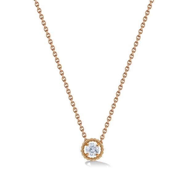 Salasil Gafla Necklace, Yellow Gold, Mini