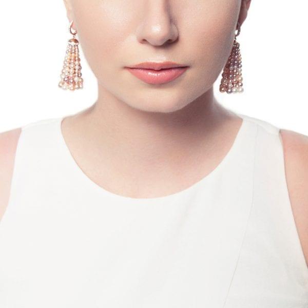 Bahar Gafla Earrings with pearls