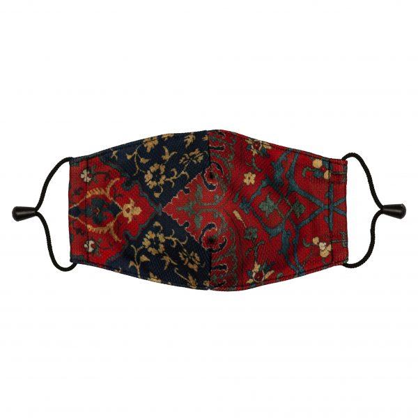 Art Face Mask Medallion Carpet