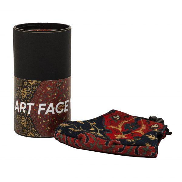 Art Face Mask Medallion Carpet box