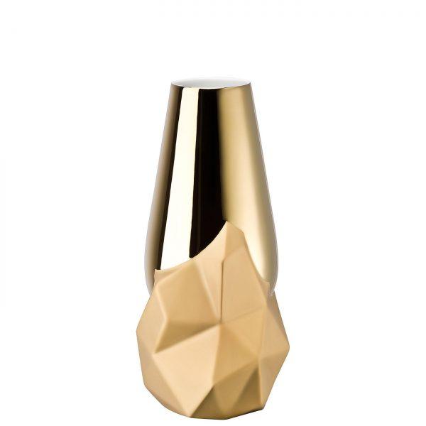 Rosenthal Geode vase gold