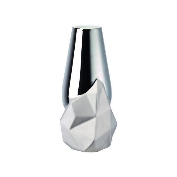 Rosenthal, Geode vase platin