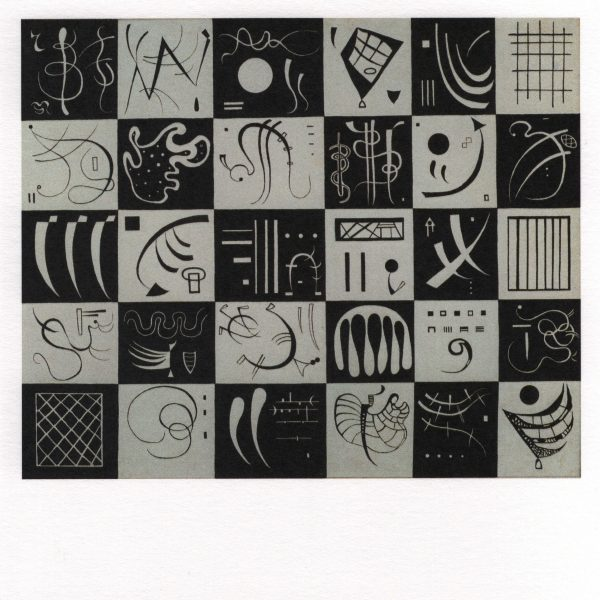 Postcard Trente [Thirty], Kandinsky
