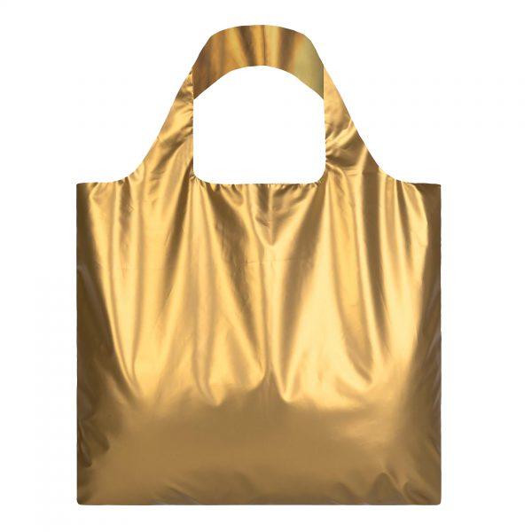 Loqi bag Metallic Matt Gold