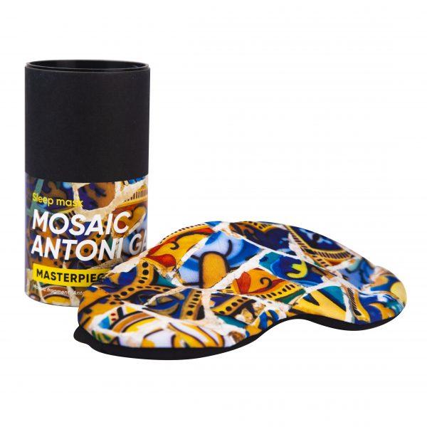 Sleep Mask Mosaic Antoni Gaudi