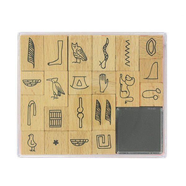 Stamp kit Hieroglyphs