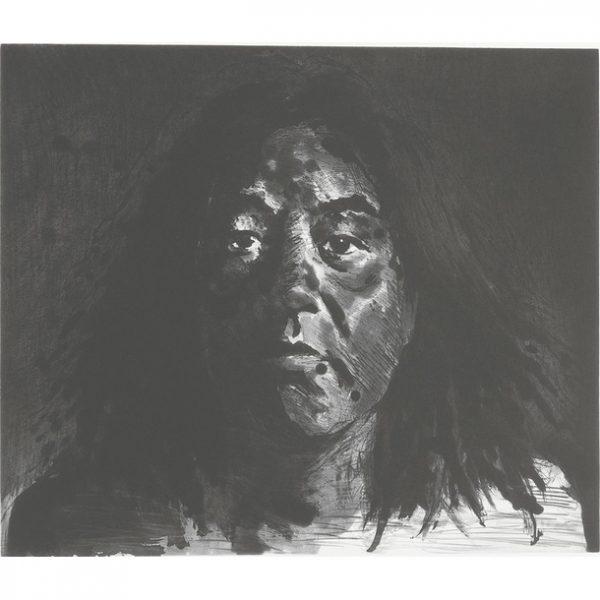 Yan Pei-Ming self portrait