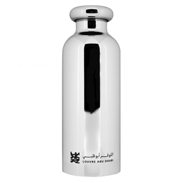 Louvre Abu Dhabi Thermal Bottle, Chrome