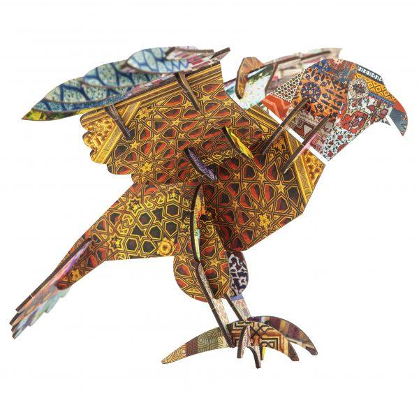 Puzzle Saker Falcon