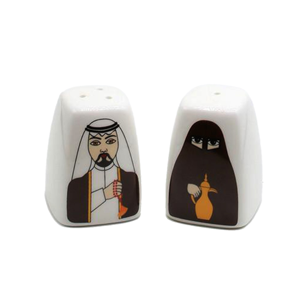 Local Couple Salt and Pepper Set