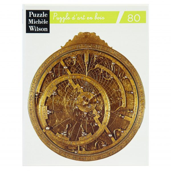 Wooden jigsaw puzzle Astrolabe