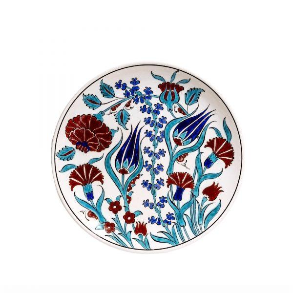 Iznik Plate Hyacinth