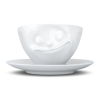Coffee Cup Happy, white, 200 ml