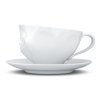 Coffee Cup Happy white, 200 ml
