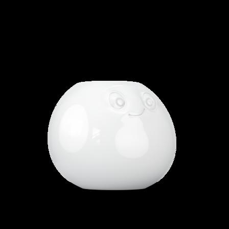 Vase Amused in white