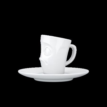 Espresso Mug with handle Baffled, 80 ml