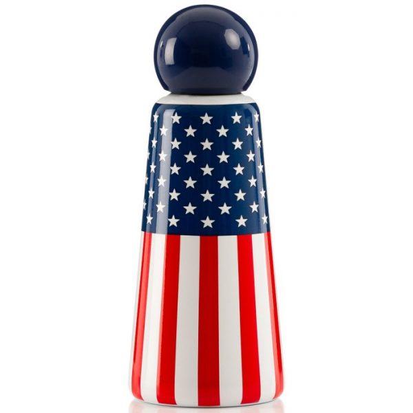 LUND Skittle Bottle USA Flag 500 ml